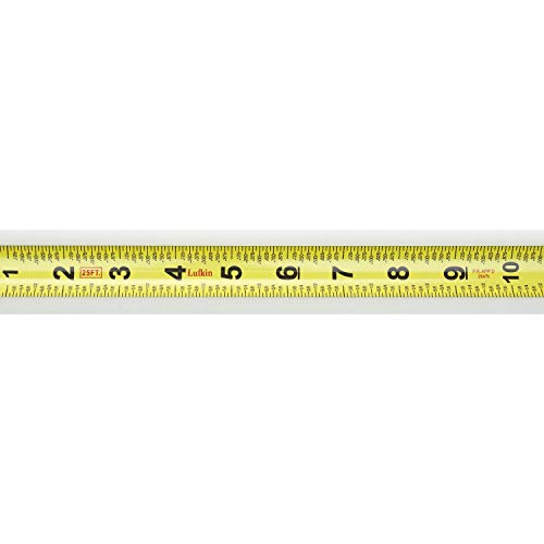 Crescent Lufkin 1 x 25' Hi-Viz Blue Quickread Yellow Clad Tape Measure - QRL625MP