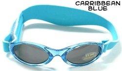Baby BanZ Adventure BanZ Ages 0-2 Carribbean Blue Protective Sunglasses - Zero Eyewear