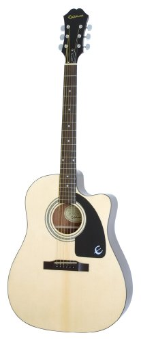 Epiphone AJ-100CE Cutaway Acoustic / Electric Guitar