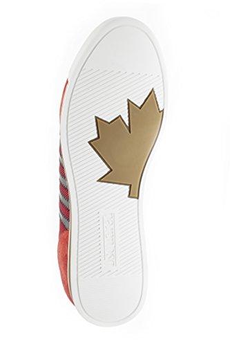 Sneaker Dsquared Sneaker Nuove Scarpe Runner, Colore: Rosso, Misura: 44