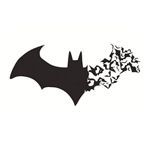 Yevison Premium Quality Halloween Wall Sticker Silhouette of