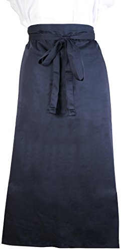 Mercer Culinary M61130NB Genesis 2-Sided Bistro Apron, Navy