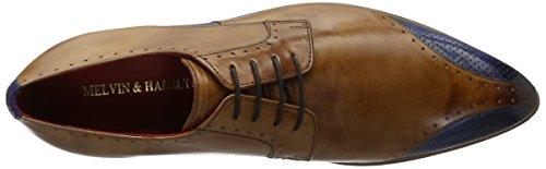 Melvin Hombre Derby Zapatos Ls para Crust Multicolor 9 Crust Nat blue Perfo de Toni Cordones E Tan amp;Hamilton HqA8HWf