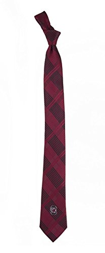 (South Carolina Gamecocks Tie Skinny Woven Polyester Necktie)