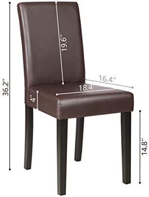 home, kitchen,  furniture 3 discount Mecor Upholstered Dining Chairs Set of 4, Kitchen deals