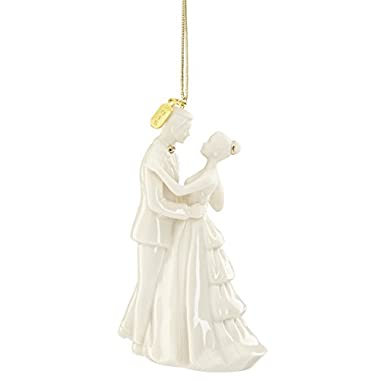 Lenox 2016  Always and Forever  Bride and Groom Ornament