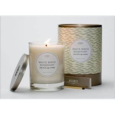 Kobo Soy Candles- White Birch Rosemary