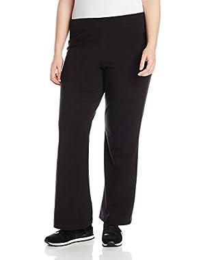 Women's Plus-Size Bootleg Pant