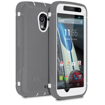 best service 4ac58 3b53f OtterBox Defender Series Case for Motorola Moto X - Retail Packaging -  Blue/Purple (Discontinued by Manufacturer)
