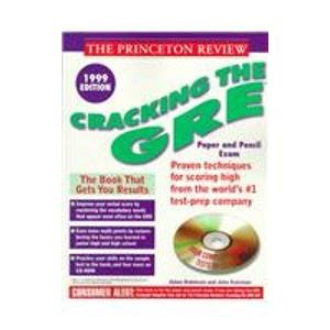 Cracking the GRE w/CD-ROM, 1999 Edition (Book and CD Rom)