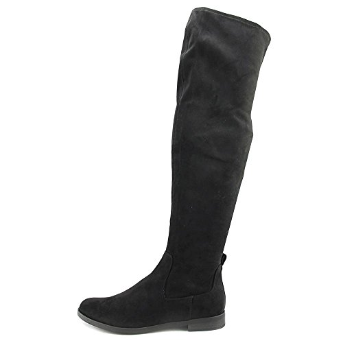 Reazione Kenneth Cole Womens Wind-y Riding Boot Carbone Microsuede