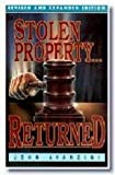 Stolen Property Returned, John Avanzini, 0892745983