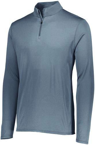 Augusta Sportswear 2785 Men's Attain 1/4 Zip Pullover, Medium, Graphite