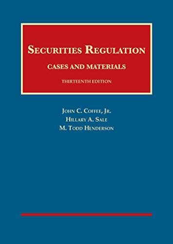 Securities Regulation Cs.+Mtrl.