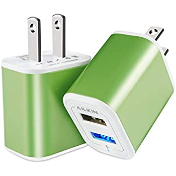 Amazon.com: Charger Base, USB Brick, Ailkin 3Pack High Speed ...