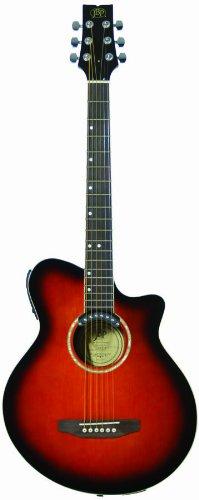 JB Player JBEA35SB Acoustic Electric Guitar, Tobacco Sunburst (Jb Player Acoustic Electric Guitar)