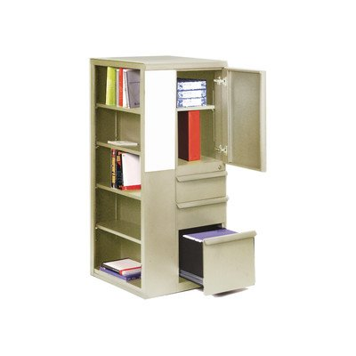 Ensemble 1 Door Storage Cabinet Finish: Pumice