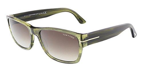 d47dd8cc0d3 Tom Ford Sunglasses TF 445 Mason 50B Striped Multicolor Brown 58mm. BUY  ONLINE · Tom Ford FT0445 S 95K MASON Clear Green Rectangular - Mason Ford  Tom