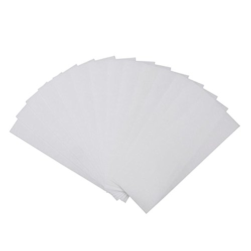 Hairless Summer! Skin Care Depilatory Hair Removal Wax Paper Nonwoven Epilator Wax Strip (80pcs)