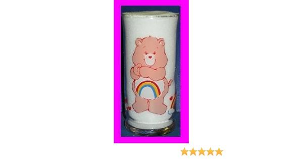 Care Bears Pizza Hut Tenderheart Bear promo glass