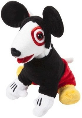 Mickey Mouse QuotBullseyequot Target Dog