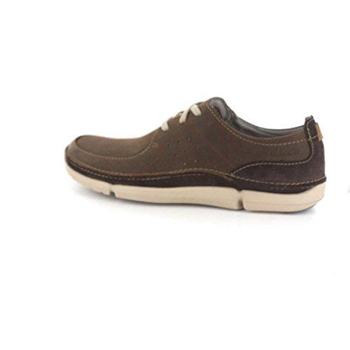 Clarks Trikeyon Fly - Zapatos de cordones derby Hombre marrón