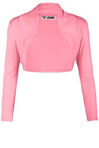 TOP LEGGING TL Women's Essential Comfy Versatile Bolero Shrug Cardigans In Junior Plus Size