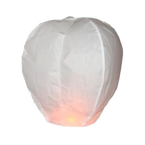 Sky Lanterns Lanterne volante biodégradable, 105 x 60 cm