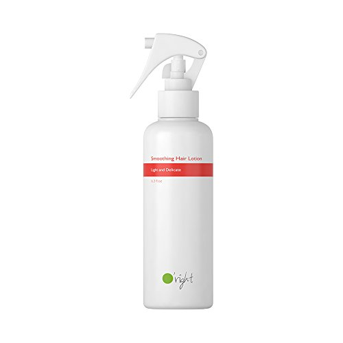 O'right Smoothing Hair Lotion (180ml) Light and Delicate, Tighten Cuticles, Tame Frizz and Dry, Reduce Static, Repair Hair, Gluten Free