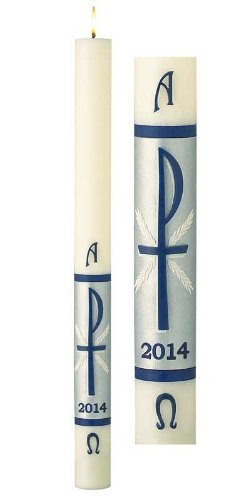 Will & Baumer No. 9 Hosanna Paschal Candle