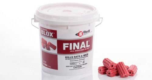 Final Blox Rodenticide 18lb Pail Rat Mouse Rodent Bait Fast Acting Rodent Killer Not For Sale To: CALIFORNIA by APS