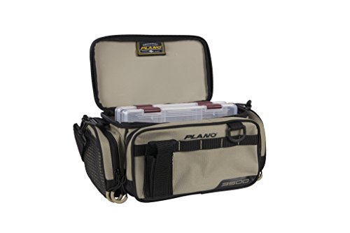 - Plano PLAB35111 Weekend Series 3500 Size Tackle Case, Tan, Premium Tackle Storage