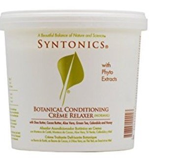 Sodium Hydroxide Hair Relaxer - Syntonics Botanical Conditioning Creme Relaxer - Normal 4lbs