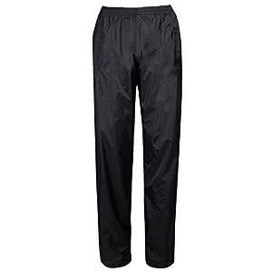 Mountain Warehouse Pakka Womens Waterproof Rain Pants Black 2
