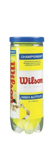 Wilson Sporting Goods Championship High Altitude Tennis Balls (Tennis Sporting Goods)