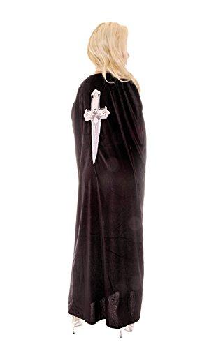 Underwraps Women's Dagger Cape, Black, One Size -