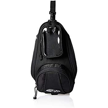 Joe Rocket 559-0000 Manta Black 13 x 7.5 x  5 Motorcycle Tank Bag