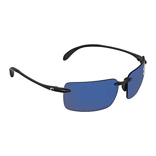 Costa Del Mar Cayan Polarized Iridium Rimless Sunglasses, Thunder Gray, 65.0 mm (Sunglasses Ballast)
