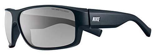 Nike Eyewear Men's Expert P EV0714-002 Polarized Square Sunglasses, Matte Black, 65 ()