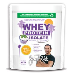 Jay Robb Whey Protein Isolate 80 onces Unflavored
