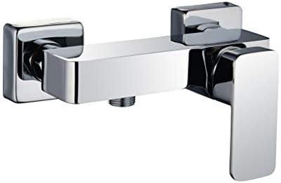 Grifo monomando de ducha CHE con equipo de ducha de mano, soporte ...