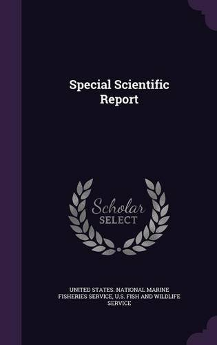 Special Scientific Report PDF