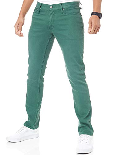 DC Hunter Green Sumner Straight Jeans (34