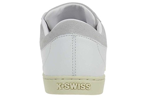 K-Swiss - Zapatillas de cuero para hombre White