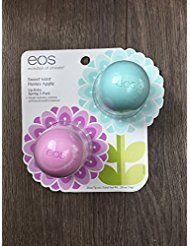 EOS Spring 2018 Evolution of Smooth 2 Pack Lip Balm Sweet Mint + Honey Apple