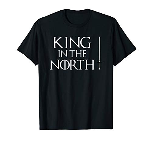 King In The North T-Shirt Easy Halloween Costume Top Tee -