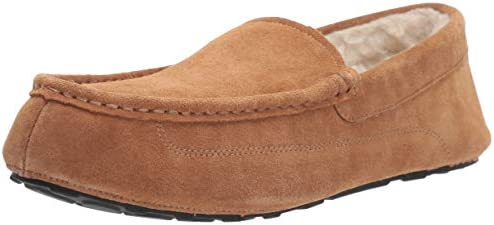 Amazon Essentials Leather Moccasin Slipper product image
