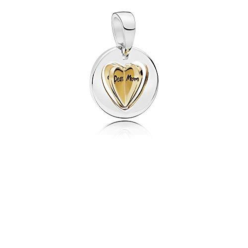 PANDORA Moms Golden Heart 18k Gold Plated PANDORA Shine Collection Charm - 767774
