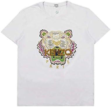 [ケンゾー] メンズ クルーネック コットン KENZO Tシャツ BLACK/WHITE T-SHIRT F952TS759001 【並行輸入品】