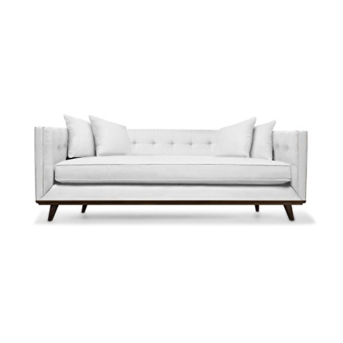 Amazon.com: South Cone Home COLTUFSOF94/WHITE Colin Tufted ...